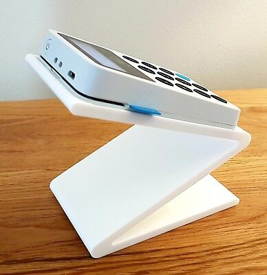 Stand for iZettle card reader - point of sale Z-shaped dock ***STAND ONLY***