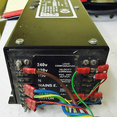 McLENNAN SERVO AMPLIFIER PM121-10T, SERIAL3 26598, MADE IN UK FOR QUAD 841C 2