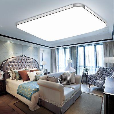 72W Groß LED Deckenleuchte Deckenlampe Wohnzimmer Leuchte Dimmbar ...