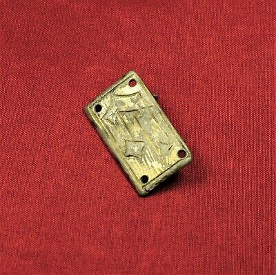 Medieval Teuton Knight's Silver Mantle Buckle, 13. Century 2