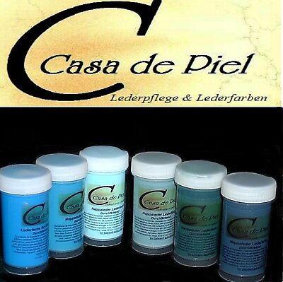 CDP Lederfarbe Nappalederfarbe Farbe Leder färben Leather Dye 30 Farben -  150ml 6
