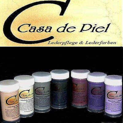 CDP Lederfarbe Nappalederfarbe Farbe Leder färben Leather Dye 30 Farben -  150ml 5