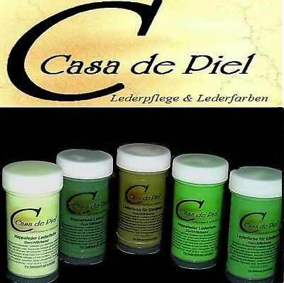 CDP Lederfarbe Nappalederfarbe Farbe Leder färben Leather Dye 30 Farben -  150ml 4