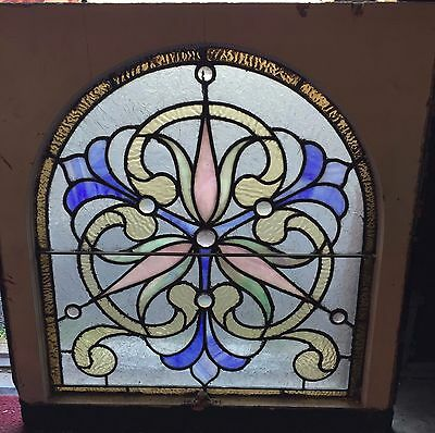 Antique Philadelphia stained glass window 5