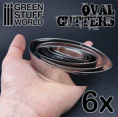 Cutter Ovale pour Bases - Acier Inoxydable Modélisme Hobby Miniatures AOS 3