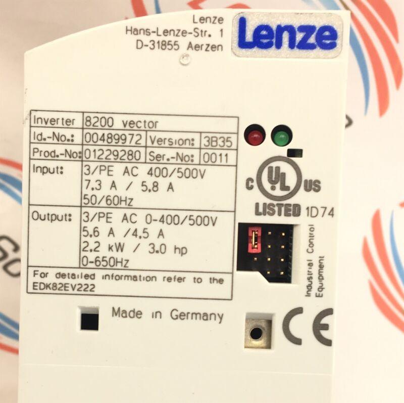 Lenze E82Ev222K4C  Frequency Inverter 6