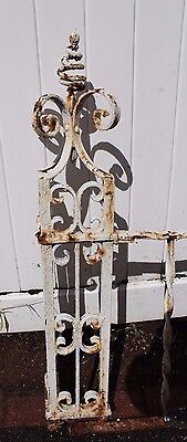 Antique Ornate Wrought Iron Fence - American circa 1900s 7
