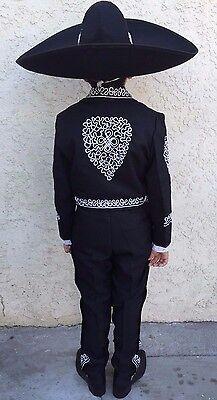 Childrens Mariachi 5 Piece Suit Traje Sutash Mariachi de 5 Piesas Para Niño.