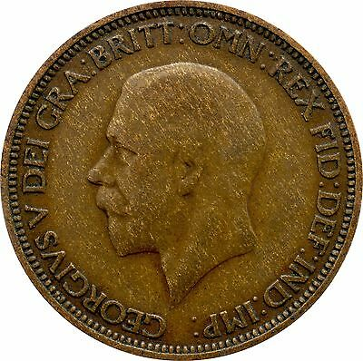 1911 To 1936 George V Half Penny / Half Pennies Choice Of Year / Date 3