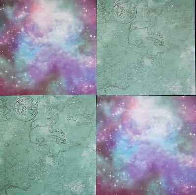 12x12 Scrapbook Paper Studio Cardstock Stargazer Stars Moon Galaxy Eclipse 40