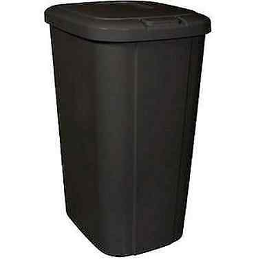 HEFTY TOUCH-LID 13.3 Gallon Plastic Kitchen Trash Can ...