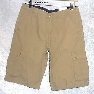 d0d5bf9d6d ... Tommy Hilfiger Boys Cargo Shorts Solid Cotton Youth size 6 8 10 12 18  NEW 7