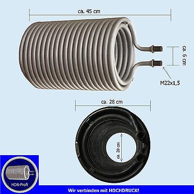 Heizschlange Heizspirale für Kärcher HDS 580 610 690 750 760 wie 4.860-063.0