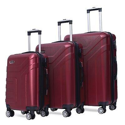 Reisekoffer 1509 Koffer Trolley Hartschalenkoffer Handgepäck M L X Set 3