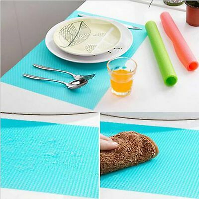 4PCS Easy Clean Kitchen Antibacterial Cabinet Pad Anti Slip Fridge Liner Mat