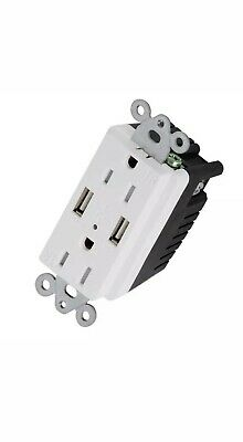 USB Outlet 4.2 Amps Fast Charge 15 Amps Receptacle (Pack of 2) *FREE SHIPPING!* 7