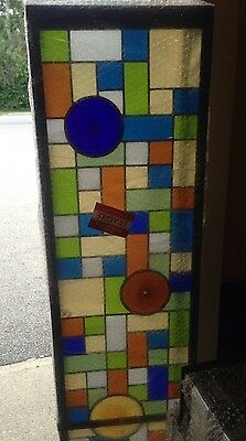 "83.5"" X 12"" Stained Glass Light Box Custom Made Wall Or Ceiling Mounted 2"