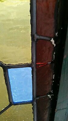 Antique Stained Glass  Window Victorian Era 12
