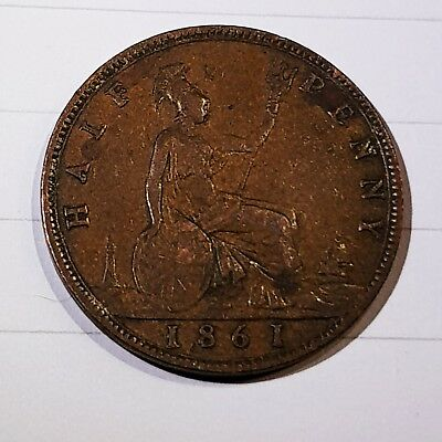 British Half Penny 1/2 Penny Coin Collection 2