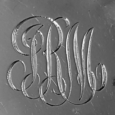 5 Gorham repousse butter pats foliate design 1892 in sterling silver 6