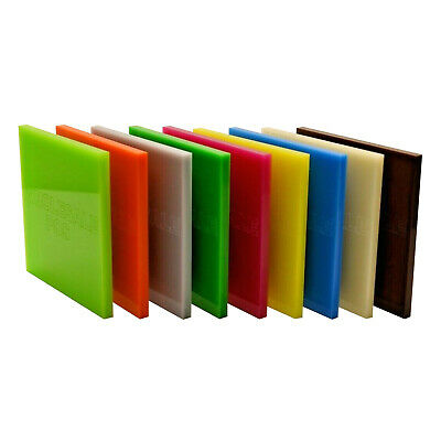 3mm Acrylic Perspex® Plastic Cut to Size Sheet / 100+ Colours / A3 A2 + Custom 3