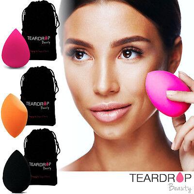 ORIGINAL Teardrop Beauty Make Up Blender Sponge Foundation Wedge Puff Applicator 3