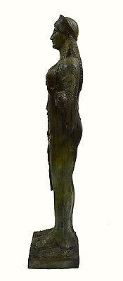 Caryatid Caryatis Kore bronze Ancient Greek aged Great statue sculpture artifact 6