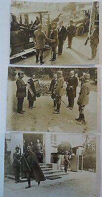 RARE Orig Photo LOT WWI German Soldier Hindenburg 1916 Ludendorff Kaiser Wilhelm 6