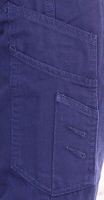 Cargo Pants Work Trousers BigBEE Elastic Band Ankle Cuff Cotton Tapered UPF 50+ 6