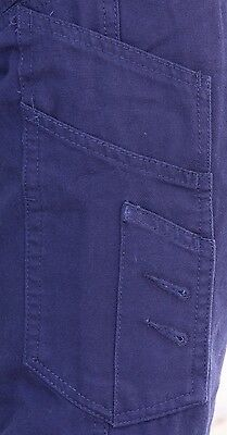 Mens Cargo Pants Trousers Elastic Banded ankle cuff, Cotton Work Wear Tapered 6