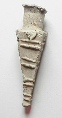 Zurqieh -Ancient Egypt - Greek Inscribed Votive Lead Vessel. 300 B.c 4