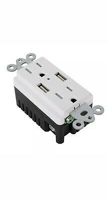 USB Outlet 4.2 Amps Fast Charge 15 Amps Receptacle (Pack of 2) *FREE SHIPPING!* 6
