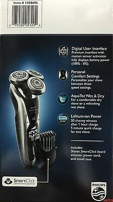 Philips Norelco 9000 Series Shaver 9800 + Beard Stubble Trimmer