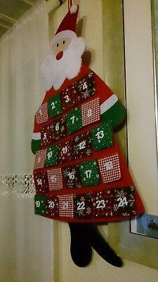 Villa Noblesse Adventskalender mit 24 Stofftaschen Neu OVP