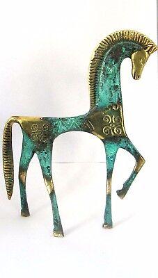 Ancient Greek Bronze Museum Statue Replica Geometric Era Horse Collectable 121 5