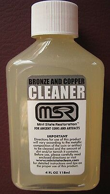 4 oz MINT STATE RESTORATION > COPPER BRONZE CLEANER > COINS & ARTIFACTS 8 • CAD $11.32