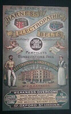 Victorian Electropathic Belts Leaflet ******(See Description For Details)****** 7