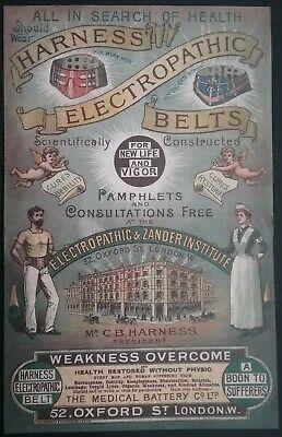 Victorian Electropathic Belts Leaflet ******(See Description For Details)****** 11