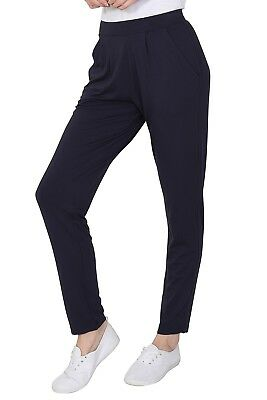 Ex M&S Jersey Tapered Pull On Trouser Ladies Stretchy Pants Marks Spencer 5