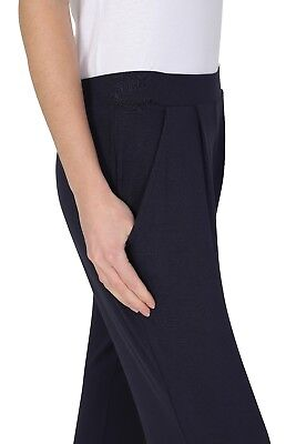 Ex M&S Jersey Tapered Pull On Trouser Ladies Stretchy Pants Marks Spencer 7