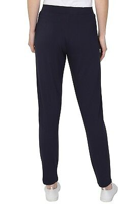 Ex M&S Jersey Tapered Pull On Trouser Ladies Stretchy Pants Marks Spencer 6