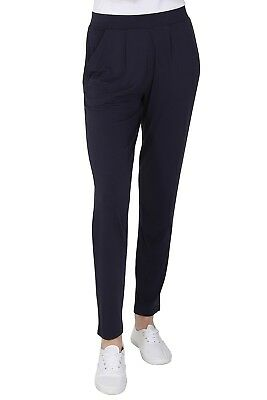 Ex M&S Jersey Tapered Pull On Trouser Ladies Stretchy Pants Marks Spencer 3