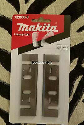 110mm HSS Planer Blade 793008-8 for MAKITA 1911B 1912B 1002BA - 2 Set 3