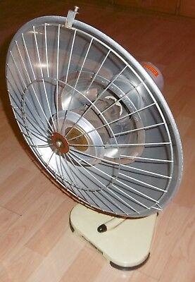 arzt tisch /wand lampe wärme alt top deko mint / gelb thermolite super 60 / 70er 3