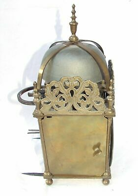 Hook and Spike Lantern Clock in Manner of Antique 16th / 17th Lantern Clock 8