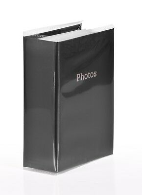 6'' x 4'' Slipin Photo Album Holds 120 Photos Photography Storage - BLACK 2