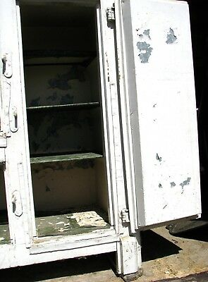 Antique Wooden Ice box 5