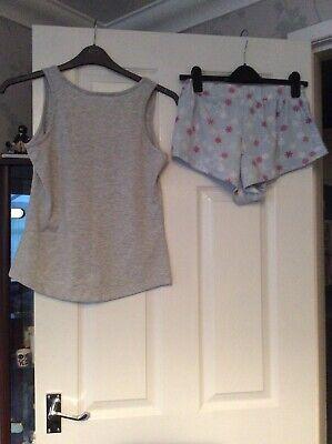 Boux Avenue Short Pyjamas Size 10 Vgc 2