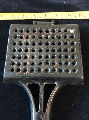 Vintage Flannel Squeezer Xx 5069 Enamelled Cast Iron Antique Dr Dukes Heavy 11