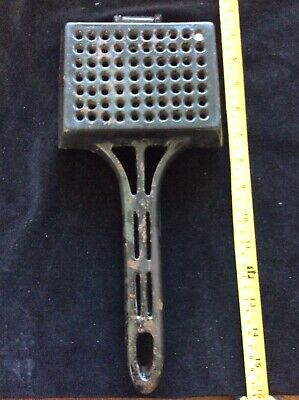 Vintage Flannel Squeezer Xx 5069 Enamelled Cast Iron Antique Dr Dukes Heavy 12